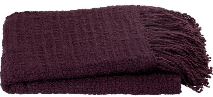 Bexley Plum Throw