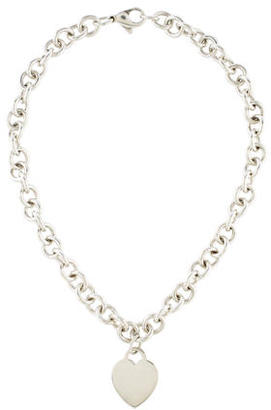 Tiffany & Co. Heart Tag Pendant Necklace $215 thestylecure.com