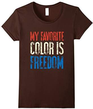My Favorite Color Is Freedom | America 4th of July T-Shirt