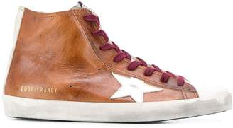 Golden Goose hi-top Superstar sneakers