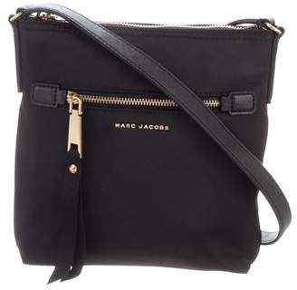 63dd62a066 Marc Jacobs Leather-Trimmed Nylon Crossbody Bag