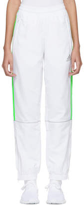Gosha Rubchinskiy White adidas Originals Edition Tracks Pants