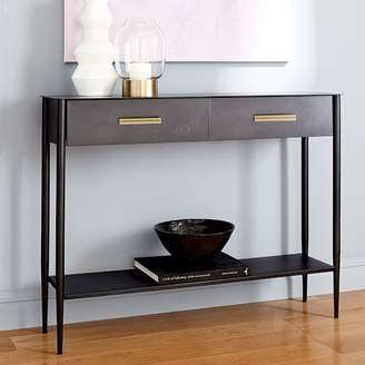 west elm Metalwork Console - Hot-Rolled Steel Finish