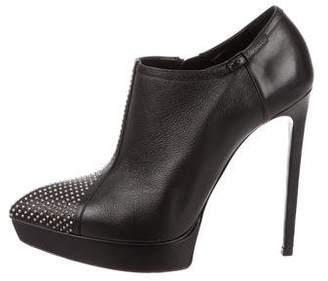 Saint Laurent Studded Leather Booties