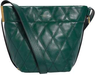Givenchy Mini Leather GV Bucket Bag
