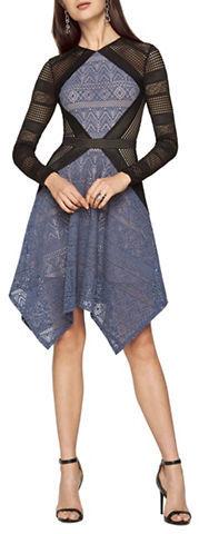 BCBGMAXAZRIABcbgmaxazria Laser Cutout Dress