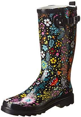 Western Chief Women's Printed Tall Rain Boot,US