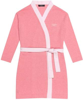 Harrods Embroidered Cashmere Robe
