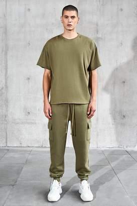 boohoo Oversized T-Shirt & Cargo Jogger Set