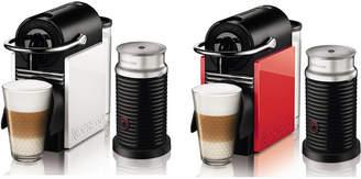 Nespresso (ネスプレッソ) - NESPRESSO コーヒーメーカー ピクシークリップ ホワイト&コーラルレッド ミルク加熱泡立て器セット ホワイト&コーラルレッド