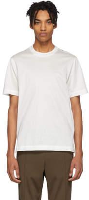 Brioni White Logo T-Shirt
