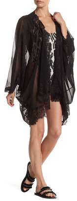 HAH | Hot-As-Hell Butterfly Open Front Caftan