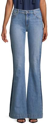 10 CROSBY DENIM Women's Noha Sexy Flare Jeans