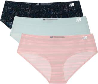 New Balance Womens Breathe Hipster Panty 3-Pack