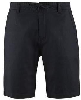 Burton Mens Black Lucca Linen Shorts