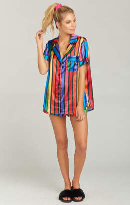 Show Me Your Mumu Slumber PJ Set ~ Rainbow Parade Print