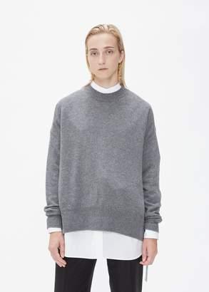 Jil Sander Long Sleeve Crew Neck Sweater