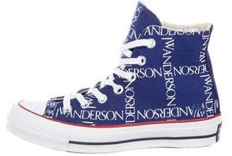 J.W.Anderson Converse Round-Toe High-Top Sneakers w/ Tags