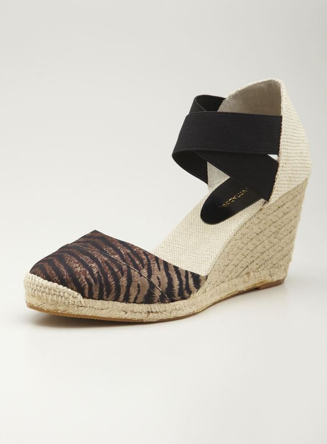 Adrienne Vittadini Birna High Wedge Sandal