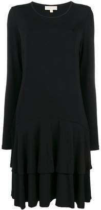 MICHAEL Michael Kors pleated t-shirt dress