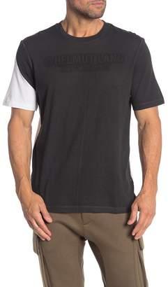 Helmut Lang Square Colorblock Short Sleeve T-Shirt