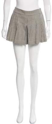 Etro Houndstooth Knee-Length Shorts