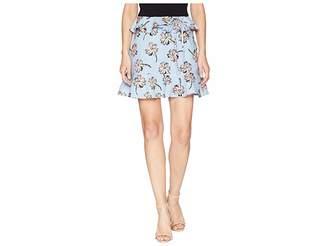 J.o.a. Ruffled Mini Skirt