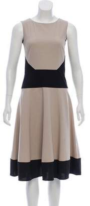 Calvin Klein Two-Tone Sleeveless Dress