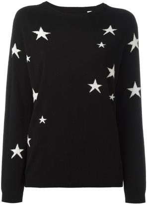 Chinti And Parker slouchy star jumper $421.28 thestylecure.com