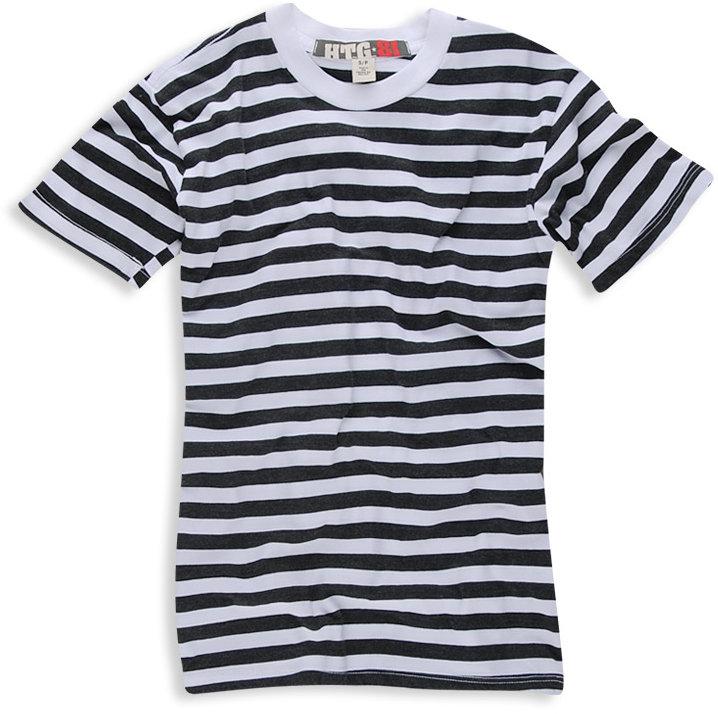 Htg 81 kids Basic Striped Tee