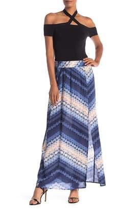 BCBGMAXAZRIA Front Slit Maxi Skirt