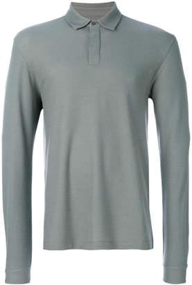 Z Zegna long-sleeved polo shirt