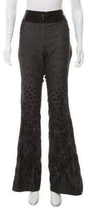 Christian Dior Embellished High-Rise Jeans