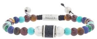 Steve Madden Gemstone Rondelle Beaded Bracelet