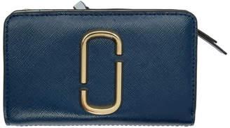 Marc Jacobs Navy Snapshot Compact Wallet