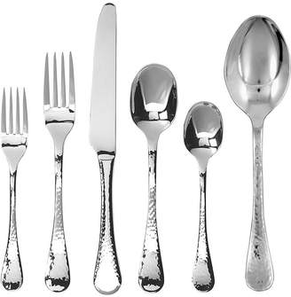 Gingko International Lafayette 42-pc. Hammered Flatware Set