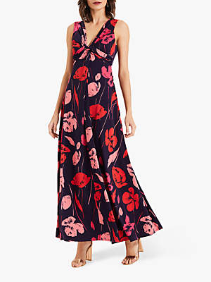 Phase Eight Alexi Printed Dress, Ink/Multi