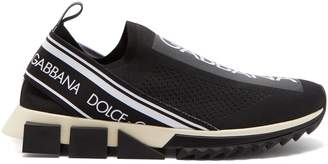 Dolce & Gabbana Logo knit low-top trainers