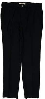 Balenciaga Flat Front Dress Pants