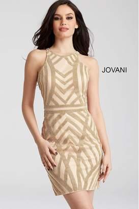 Jovani Sparkly Cocktail Dress
