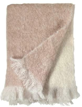 Michael Aram Mohair & Wool Throw