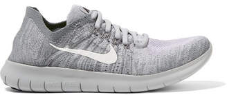 Nike Free Rn Flyknit Sneakers - Light gray