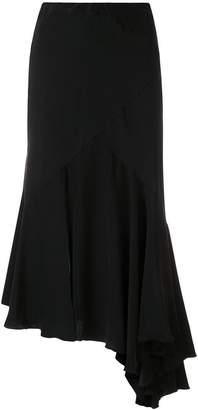 Simonetta Ravizza Tea asymmetric hem skirt