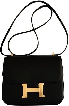 Hermes Constance Leather Crossbody Bag
