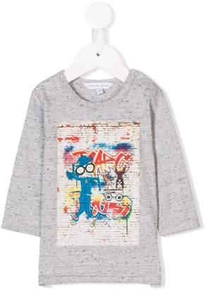 Little Marc Jacobs Mr Marc graffiti print T-shirt