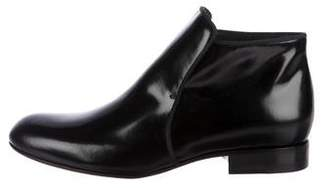 Celine Leather Ankle Boots w/ Tags