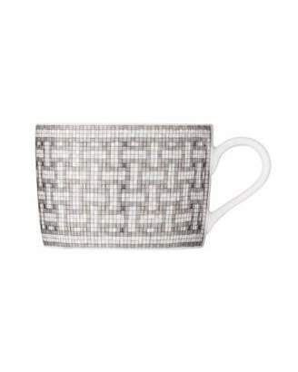 Hermes Mosaique au 24 Platinum Cup & Saucer