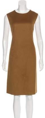 Loro Piana Cashmere Sleeveless A-Line Knee-Length Dress
