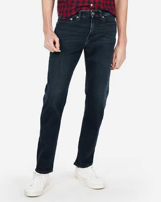 Express Classic Slim Dark Wash 4 Way Stretch Jeans