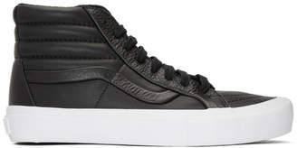 Vans Black Stitch and Turn Sk8-Hi Reissue ST Sneakers